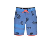 Hurley Phantom Allover Print Short, Blue/Orange