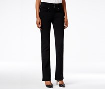 Style & Co. Bootcut Jeans, Deep Black Wash