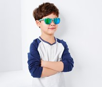 Boys Sunglasses With Box, Blue