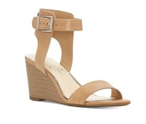 Jessica Simpson Two-Piece Wedge Sandal, Tan
