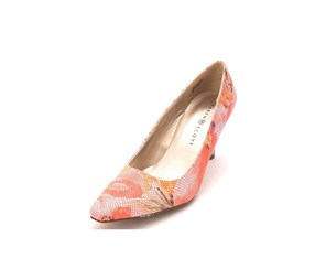 Karen Scott Clancy Women's Snake-Print Pumps, Pink Floral
