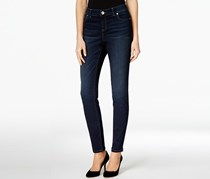 Inc International Concepts Women's Curvy-Fit Skinny Jeans, NavyBlue