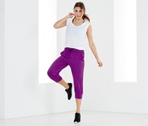 Women's Under-Knee Sport Pant, Purple