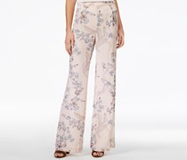 Bar III Women's Wide-Leg Suit Pants, Floral Print