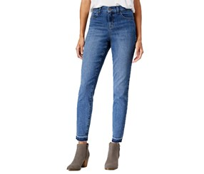 Style & Co Women's Jeans Mid-rise, Blue
