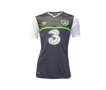 Umbro Republic Of Ireland Away Jersey, White/Grey