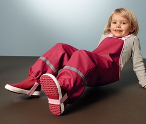 Kid's Overtrousers, Pink