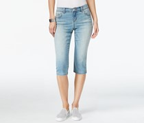 Inc International Concepts Regular-Fit Cropped-Leg, Light Blue