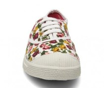 Bensimon Girl's Sneakers, Floral Perl Pink/Red