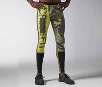 Reebok Men's Kevlar Comp Tight, Green