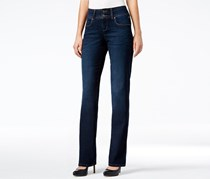 Style & Co Women's Wash Boot cut Jeans, Navy