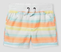 Cat & Jack Newborn Short, Orange/White