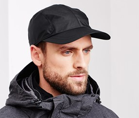 Men's All-Weather Cap, Black
