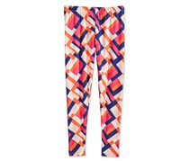 Epic Threads  Big Girls Geo-Print Leggings, Pink Yarrow
