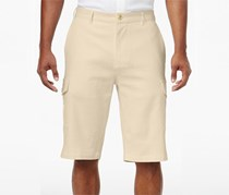 Sean John Men's Lightweight Cargo Shorts, Beige