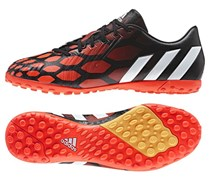 Adidas Predator Sport Shoes, Black/Orange