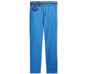 Tommy Hilfiger Big Boys Dagger Twill Pants, Blue