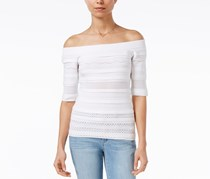 Maison Jules Off-The-Shoulder Top, Bright White