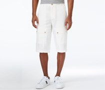 Sean John Men's Big Tall Lightweight Short, Cream