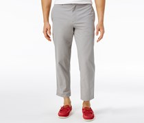 Tommy Hilfiger Men's Rivington Cropped Cotton Pants, Gray