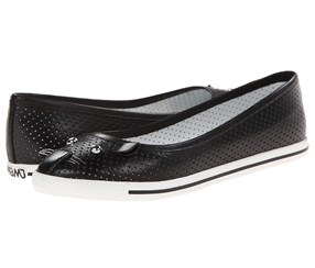 Marc by Marc Jacobs Women's Mouse Ked Ballet Flat, Black