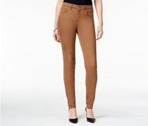 Style & Co. Curvy-Fit Skinny Jeans, Tobacco