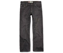 Levi's Boy's Regular Slim-Straight Jeans, Grey