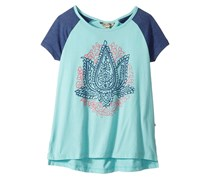 Lucky Brand Girl's Top, Aqua Haze