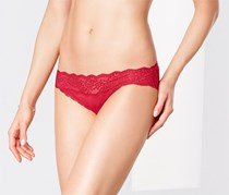 Women's Lace Briefs, Red