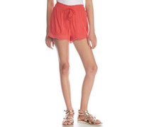 Imperial Star Crinkle Eyelet Short, Candy Coral