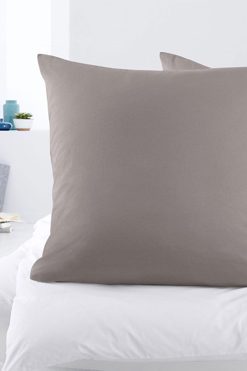 Jersey Pillowcase 90 x 70 cm, Grey