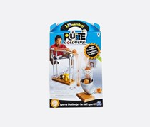 Rube Goldberg Trick Shot Challenge, Blue/White