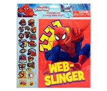 Marvel Spider-Man Sticker Scene Card Set, Red