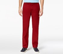 Tommy Hilfiger Custom-Fit Chinos Pants, Sun Dried Tomato