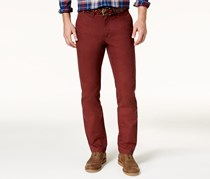 Tommy Hilfiger Custom-Fit Chinos Pants, Decadent Chocolate