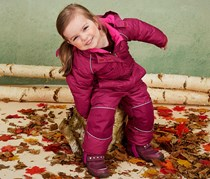 Toddler Snowsuit, Bordeaux