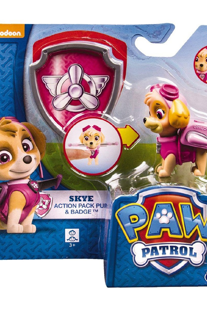 Shop Nickelodeon Paw Patrol Action Pack Pup Badge, Skye for