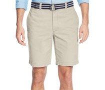 Club Room Mens Flat-Front Shorts, Sand Villa