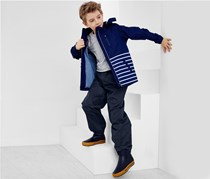 Kids Rain Pants, Dark Blue