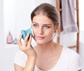 Electric 3-in-1 Facial Brush, Light Blue