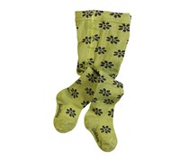 Boboli Little Girl's Tights Floral Floral Tights, Green