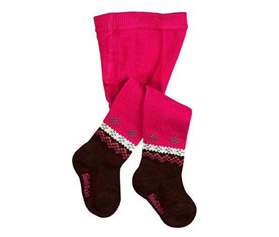 Little Girls Tights, Raspberry