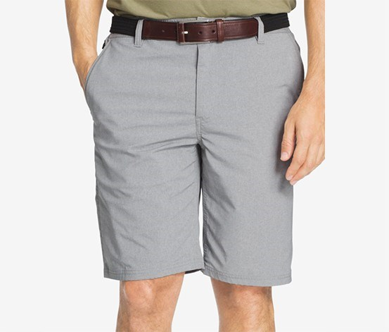 Men's Performance Heathered Shorts, Grey