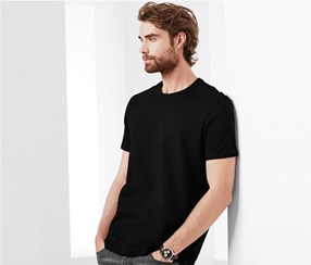 Mens T-Shirt Set of 2, Black