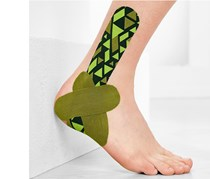 Kinesiology Tapes Set of 3 Ankle, Green, Blue