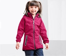 Girls Soft Shell Jacket, Pink
