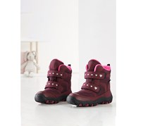 Toddler Girls Thermal Boots, Bordeaux