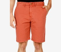 Lucky Brand Mens Monterey Stretch Shorts, Marsala