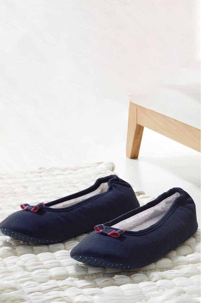 Womens Ballerina Slipper, Blue