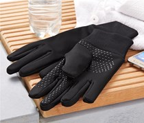 Wind Protection Gloves, Black